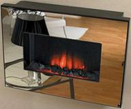 Электрокамин Flamerite Corello mirror black/silver