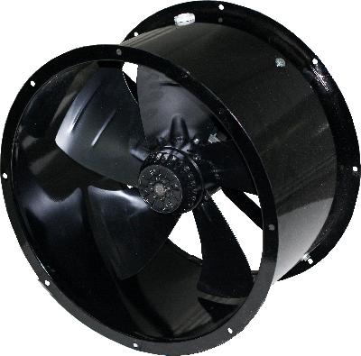 Канальный промышленный осевой вентилятор