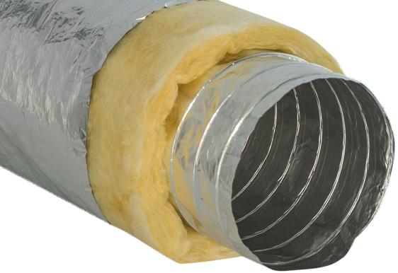 Теплоизолированный гибкий воздуховод