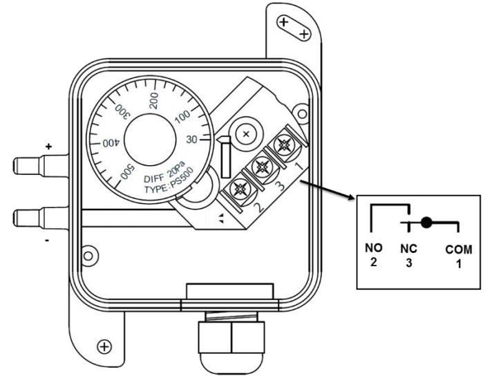 подключение реле DPS-1500N