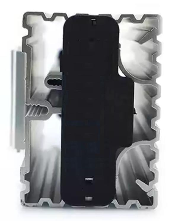 Профиль PTC-45 нагревателя для шкафа и щита автоматики