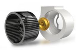 Вентилятор канального осушителя воздуха для бассейна Daksen