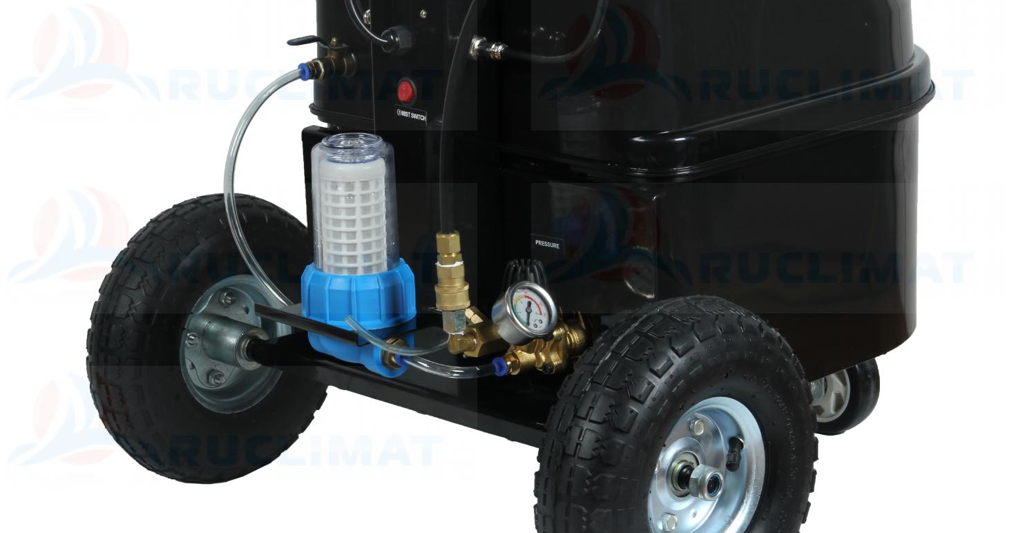 устройство увлажнителя с насосом высокого давления