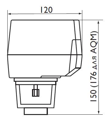 Размеры на Regin AQT-AQM