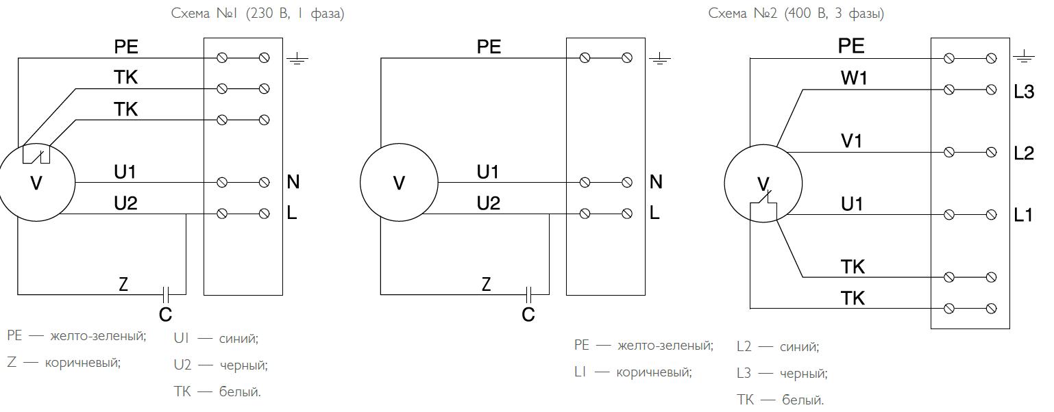 Вентилятор wrw схема подключения