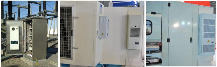 Варианты установки кондиционера для шкафа автоматики