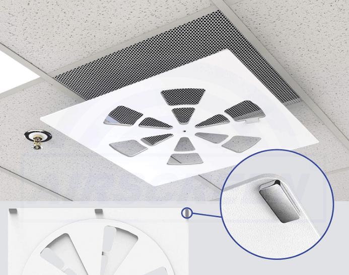 Вентиляционная крышка с креплением на магните