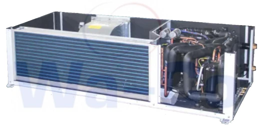 Устройство кондиционера с водяным охлаждением конденсатора