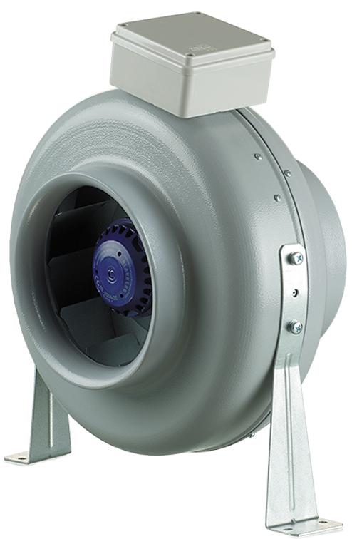 круглый канальный вентилятор с монтажным комплектом