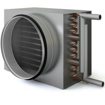 Круглый водяной канальный нагреватель