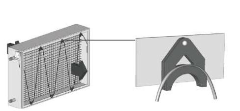 Установка капиллярного датчика