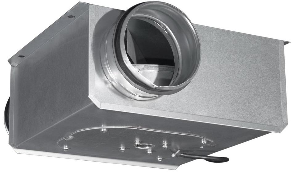 Вентилятор для круглых каналов компактный